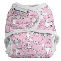 Best Bottom Cloth Diaper Shell-Snap, This Little Piggy