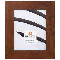 Craig Frames FM74DKW 18 by 36-Inch Picture Frame, Smooth Finish, 2-Inch Wide, Dark Brown