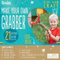 Bendon Imagine Kids Who Craft Make Your Own Grabber Craft Kit (42810)