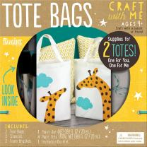 Bendon Imagine Craft with Me Tote Bags Craft Kit (89705)