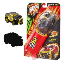 Boom City Racers - 2 Pack - Exclusive Car Roast'd! X and A Surprise Mystery Car