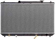 BOXI Radiator Direct Replacement Assembly for 1997-2001 Toyota Camry 2.2L L4, 1999-2001 Toyota Solara 2.2L L4 CU1909 41-1909A
