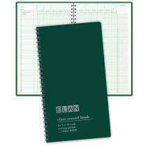 """Class Record Book for 9-10 Weeks. 50 Names. Smaller Size 7"""" x 11"""" (R9010)"""