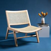 Safavieh Couture Home Auckland Natural Rattan Accent Chair