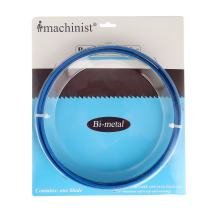 "Imachinist S95341014 M42 Bi-metal Bandsaw Blades 95"" X 3/4"" X 10/14tpi for Soft Metal"