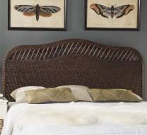 Safavieh Home Collection Sephina Brown Rattan Headboard (Full)