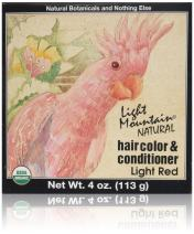 Hair Color & Conditioner- Light Red Light Red Light Mountain 4 oz Powder