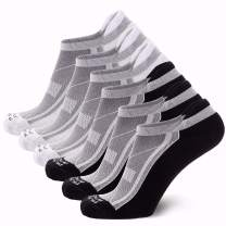 Pure Athlete Bamboo Low Cut Running Socks for Men and Women – Anti-Blister, Cushioned, Comfortable