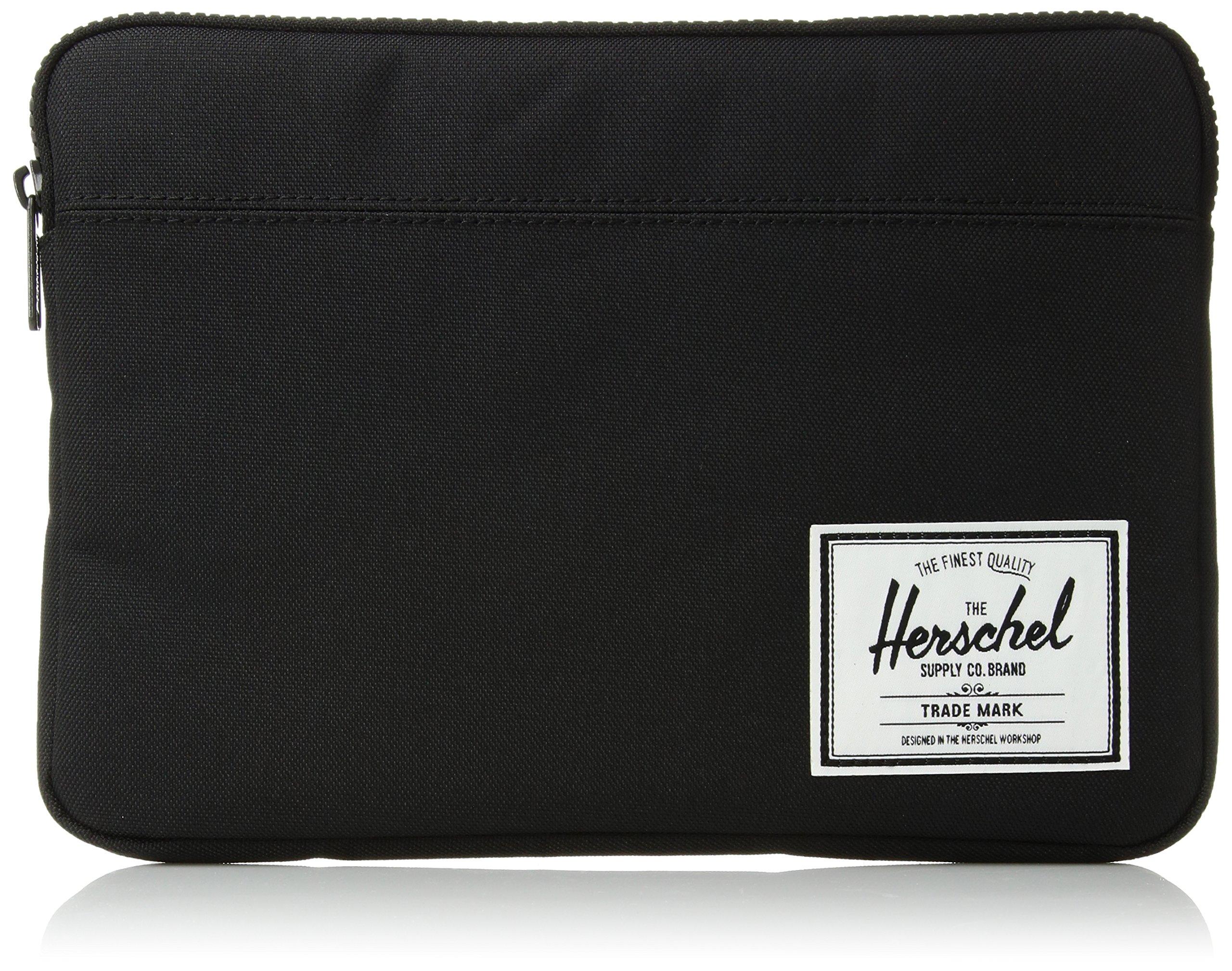 Herschel Anchor Sleeve for MacBook/iPad, Solid Black