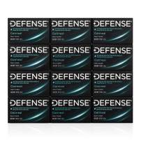 Defense Soap, Oatmeal, 4 Ounce Bar (Pack of 12) - 100% Natural and Herbal Pharmaceutical Grade Tea Tree Oil