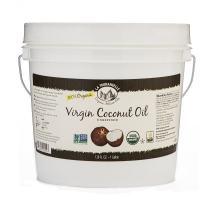La Tourangelle, Organic Virgin Unrefined Coconut Oil, 128 Fluid Ounce