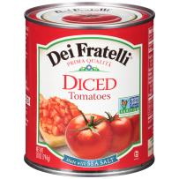 Dei Fratelli Diced Tomatoes - All Natural - 5th Generation Recipe (28 oz. cans; 6 pack)