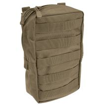 """5.11 Tactical 6"""" x 10"""" All Weather Nylon Vertical Molle Pouch, YKK Zipper Hardware, Style 58717"""