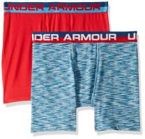 Under Armour Boys' 2 Pack Sublimation Print Performance Boxer Briefs