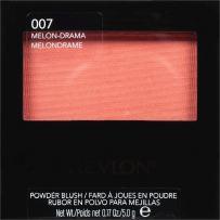 Revlon Powder Blush, 007 Melon-Drama, 0.17 Ounce