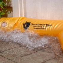 Best Sandbag Alternative - Hydrabarrier Ultra 6 Foot Length 6 Inch Height. - Water Diversion Tubes That are The Lightweight, Re-usable, and Eco-Friendly (Single Unit)