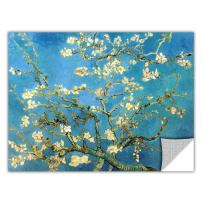 ArtWall Art Appealz Almond Blossom Removable Wall Art Graphic by Vincent Van Gogh, 24 by 32-Inch