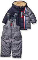 LONDON FOG Baby Boys' 2-Piece Snow Pant & Jacket Snowsuit