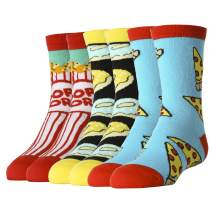 Oooh Yeah Kid's Novelty Crew Socks, Funny Crazy Silly Socks, Cool Fashion Socks, Casual Dress for Boy and Girl