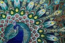 DIY 5D Diamond Art Peacock Feathers by LUHSICE, 45x65cm