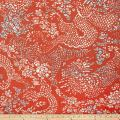 Dwell Studio Amapura Persimmon Fabric by The Yard