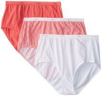 Hanes Women's Cool Comfort Cotton Brief Panties
