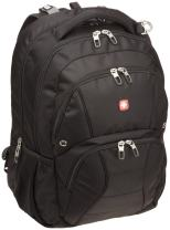 Swiss Gear SA1908 Black TSA Friendly ScanSmart Laptop Backpack  - Fits Most 17 Inch Laptops and Tablets