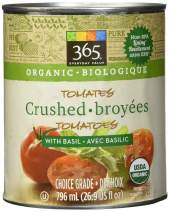 365 Everyday Value, Organic Crushed Tomatoes with Basil, 28 oz