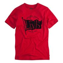 Levi's Boys' Little Classic Graphic T-Shirt, Chili Pepper, 6