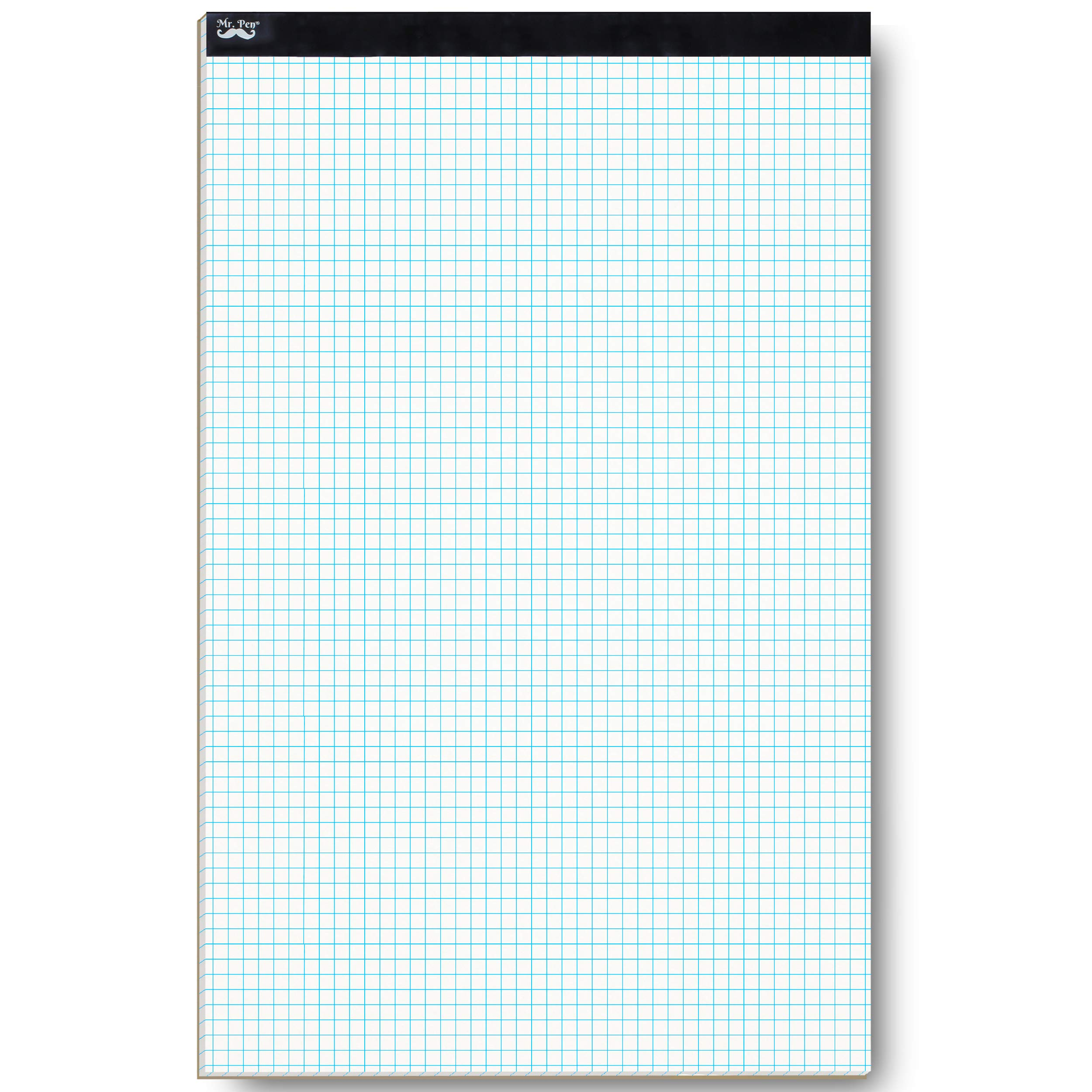 """Mr. Pen- Graph Paper, Grid Paper, 22 Sheet Papers, 4x4 (4 Squares per inch), 17""""x11"""", Drafting Paper, Squared Paper, Blueprint Paper, Architectural Paper, Computation Pad, Quadrille Writing Paper, Pad"""