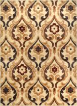Elegant and Classic Design | Catalina Area Rug by Home Dynamix, , Ivory| Sumptuous Fabric, Soft, Comfy and Durable | Fade and Stain Resistant, Easy to Clean and Care for