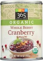 365 Everyday Value, Organic Cranberry Sauce, Whole Berry, 14 oz