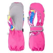 TRIWONDER Ski Mittens Gloves for Kids Outdoor Thermal Warm Gloves Snow Mitts Winter Ski Gloves