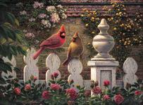 Buffalo Games - Kim Norlien - Emily's Garden - 1000 Piece Jigsaw Puzzle