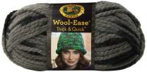 Lion  640-519 Wool-Ease Thick & Quick Yarn , 97 Meters, Raven