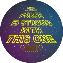 TIRE COVER CENTRAL Force is Strong Tribute Wheel Spare Tire Cover (Select tire Size/Back up Camera Option in MENU) Sized to Any Make modelfor 255/75R17
