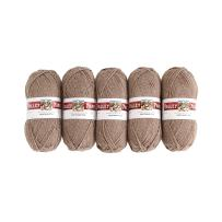 Valley Yarns Northampton 5-Pack (Worsted Weight Yarn, 100% Wool) - #03 Fawn