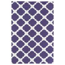 Kaleen Rugs Lily & Liam Collection LAL01-95 Purple Machine Tufted Rug, 5' x 7'