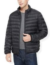 YISEVEN Men's Lightweight Water Resistant Packable Down Jacket