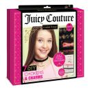 Make It Real - Juicy Couture Chokers and Charms. DIY Choker Jewelry Making Kit for Girls. Design and Create Girls Choker Necklaces with Juicy Couture Charms, Beads, Ribbons, and Chains