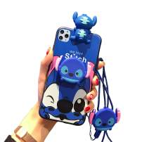 VANVENE Stitch iPhone 11 Pro Max Case, Cute Cartoon 3D Animal Character Silicone Protective iPhone 11 Pro Max Fun Case for Kids Girl Boys Teens 6.5 Inch