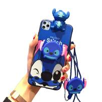 VANVENE Stitch Case for iPhone 11 Pro, Cute Cartoon 3D Animal Character Silicone Protective iPhone 11 Pro Cover Case for Kids Girl 5.8 Inch