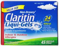 Claritin Claritin 24 Hour Allergy Liqui-Gels, 45 Count