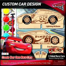 Bendon Cars 3 Decorate Your Own Race Cars Activity Set (AS33580)