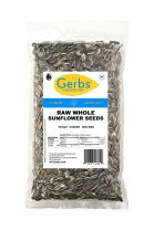 Raw Whole Sunflower Seeds by Gerbs – 4 LBS - Top 14 Food Allergy Free & NON GMO - Vegan, Keto Safe & Kosher - Grown in USA