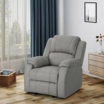 Christopher Knight Home 304384  Michelle Gliding Recliner, Grey + Black