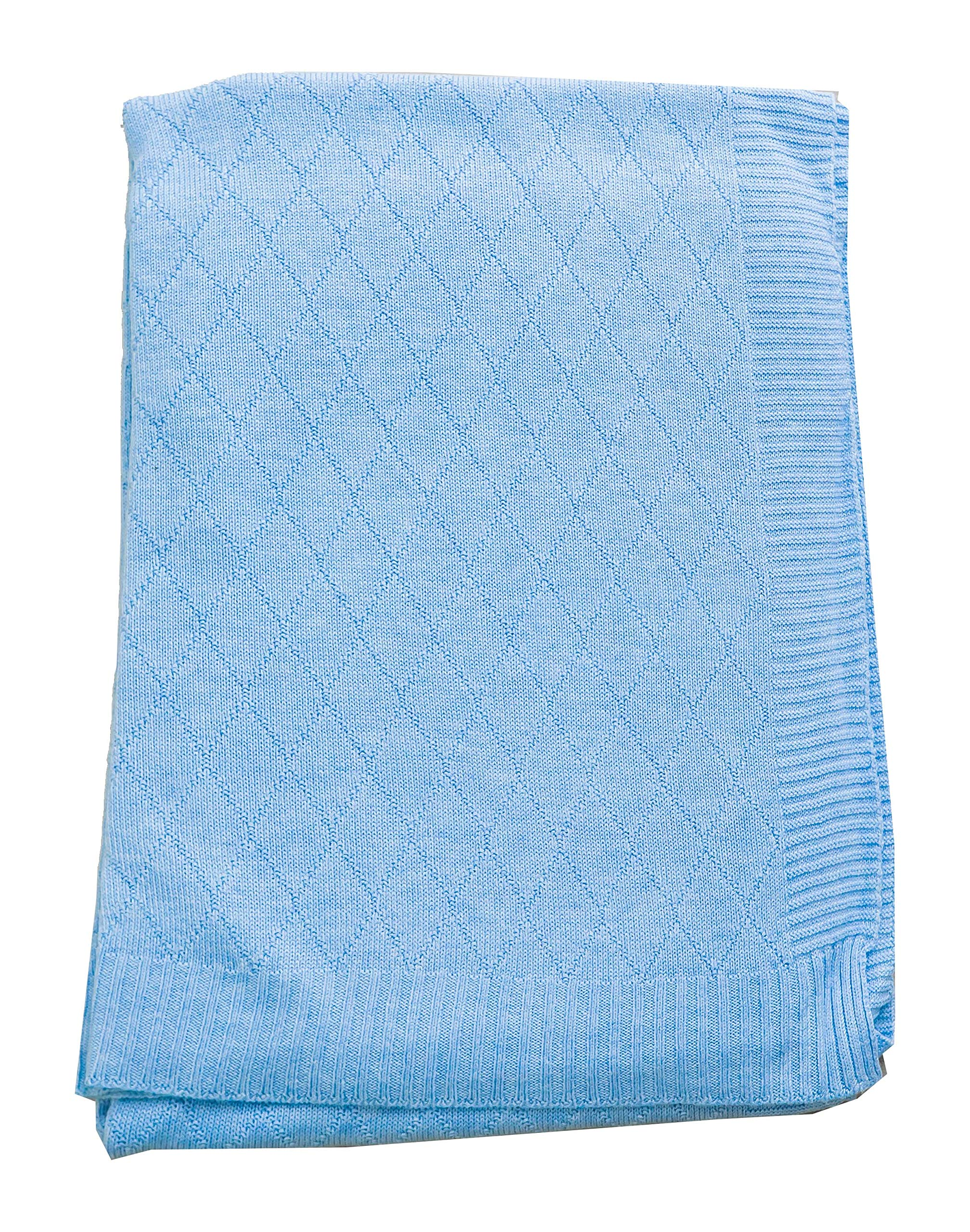Baby Bright Baptism Christening Dedication Swaddle Blanket for New Born Infant Made from Ultra Soft 100% Viscose Shawls for New Baby Soft Warm Cozy Shawl Blanket for New Born Size 80 110 cms