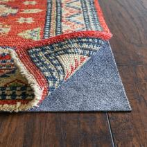 """RUGPADUSA, RugPro, 8'x12', 1/16"""" Thick, Felt and Rubber, Ultra Slim Non-Slip Rug Pad, Perfect for High Traffic Areas and Entryways, Many Custom Sizes"""