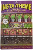 Mardi Gras Decor & Street Light Props Party Accessory (1 count) (21/Pkg)