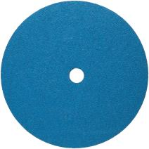 "Norton BlueFire F826P Abrasive Disc, Fiber Backing, Zirconia Alumina, 7/8"" Arbor, 4-1/2"" Diameter, Grit 60 (Box of 25)"